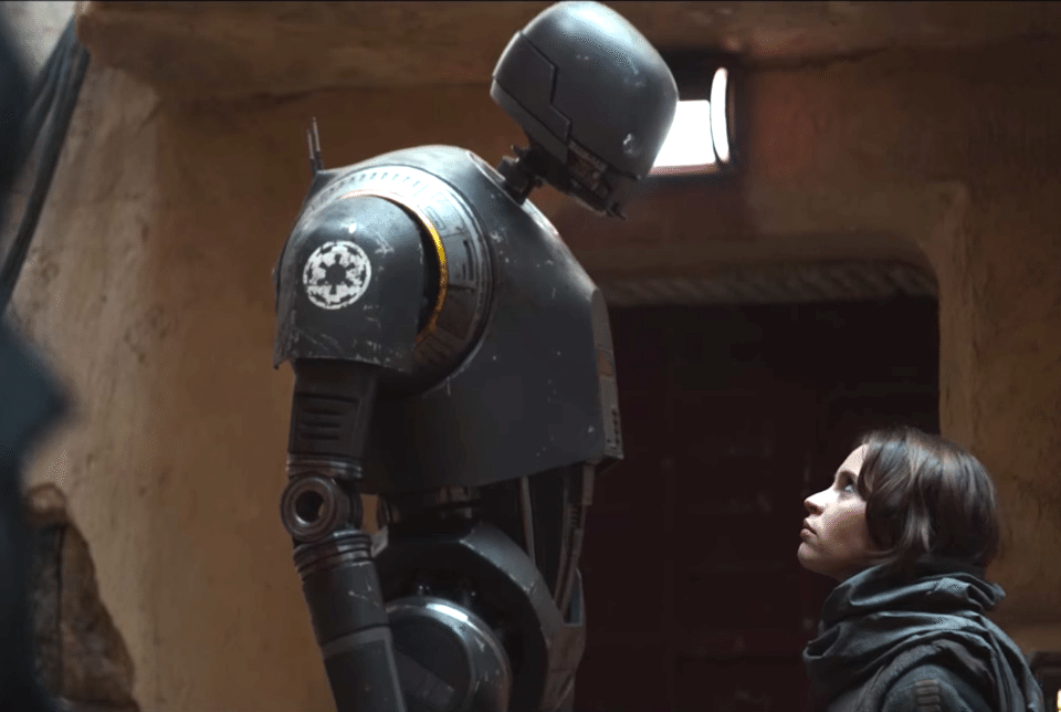 K-2SO played by Alan Tudyk